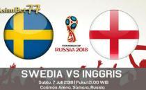 Prediksi World Cup Swedia vs Inggris - Agen Bola Piala Dunia 2018