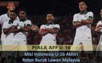 Misi Indonesia U-16 Akhiri Rekor Buruk Lawan Malaysia Sabung Ayam Online