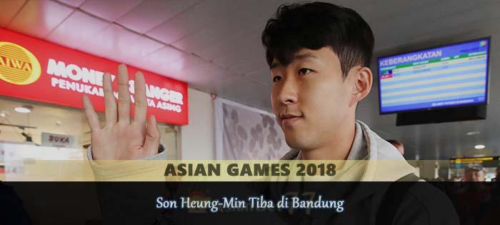 Son Heung-Min Tiba di Bandung Agen bola online