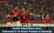 Sudah Dipastikan Lolos, Indonesia U-16 Rotasi Pemain vs Kamboja Sabung Ayam Online