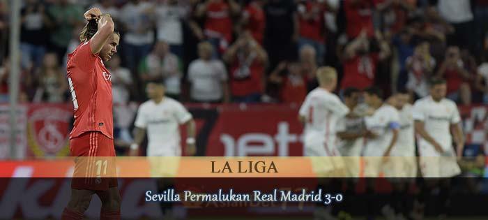 Sevilla Permalukan Real Madrid 3-0 Agen bola online
