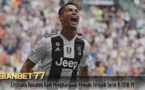 Cristiano Ronaldo Raih Penghargaan Pemain Terbaik Serie A 2018-19