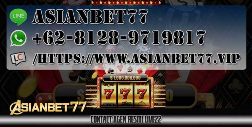 Contact agen LIVE22 RESMI