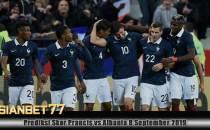 Prediksi Skor Prancis vs Albania 8 September 2019