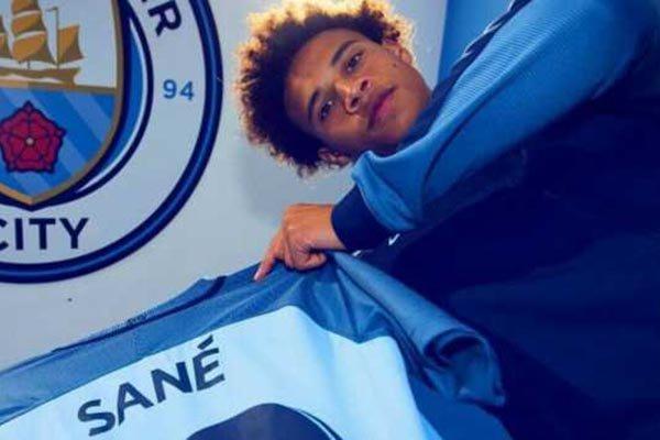 Manchester City Naikkan Gaji Leroy Sane dan Gabriel Jesus