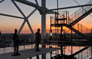 Centre Pompidou - 美術館テラス