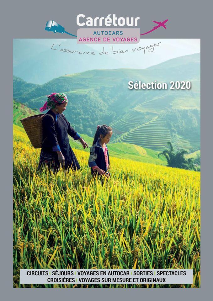 La brochure 2020 de Carrétour Voyages