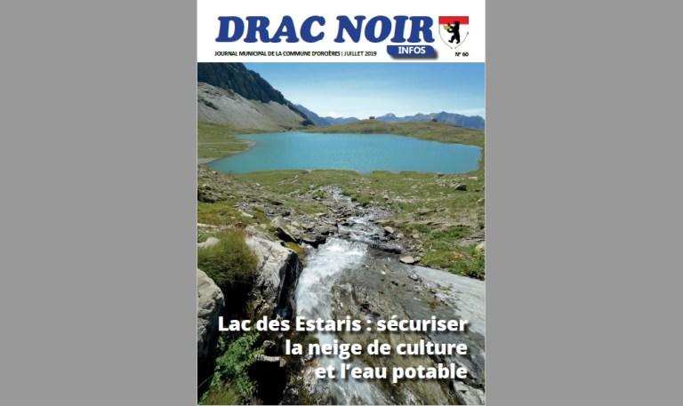 Drac Noir, le journal municipal d'Orcières