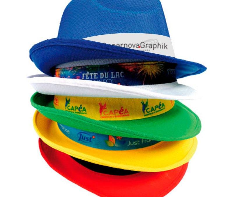 Chapeaux publicitaires personnalisés pour notre 5ème offre anniversaire