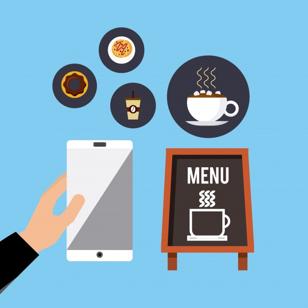 Votre menu de restaurant accessible à partir d'un flashcode pour la réouverture !