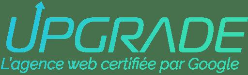 Le logo officiel d'Upgrade, l'agence web certifiée par Google.