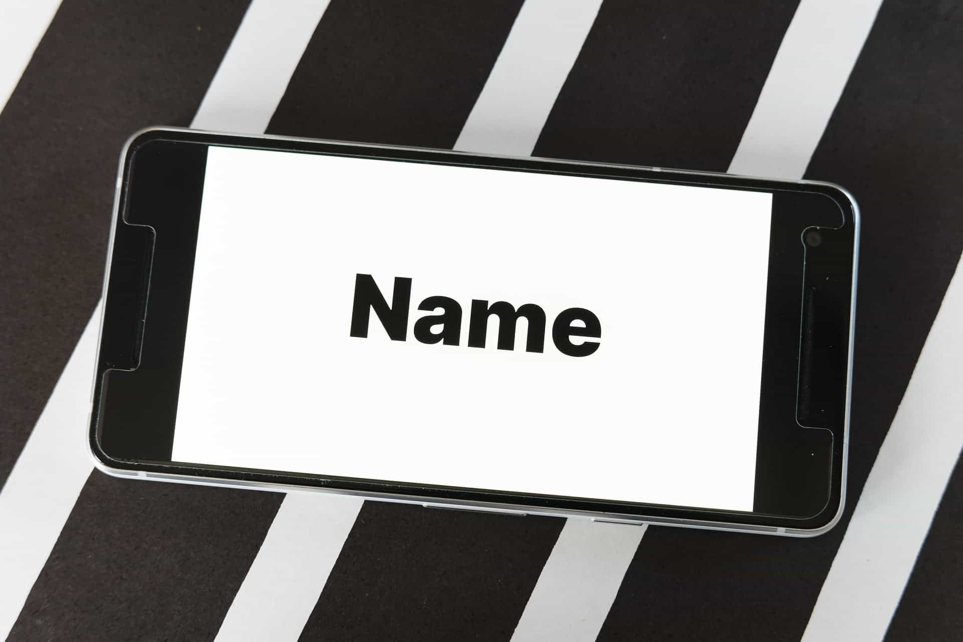 Un nom de domaine