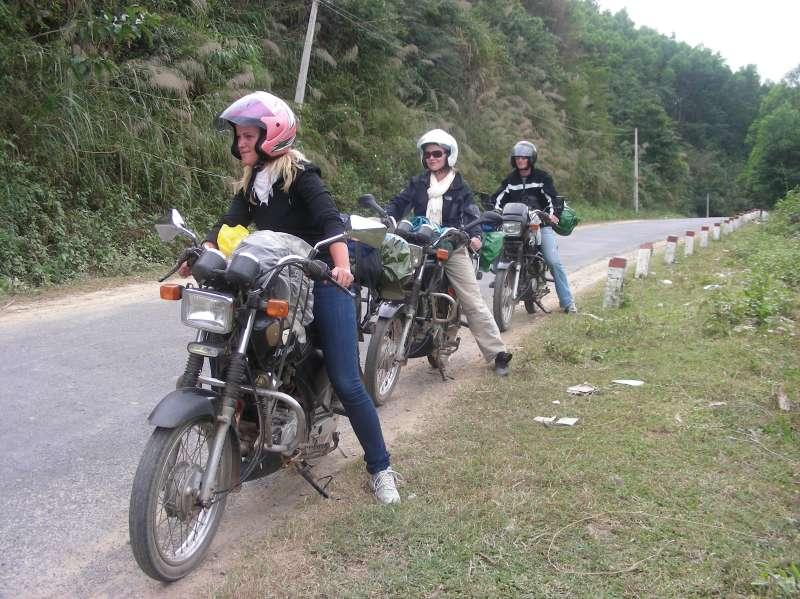 en route de moto au Vietnam