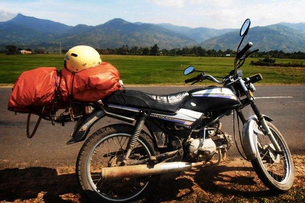 en route de voygae à moto au Vietnam