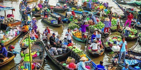 voyage au delta du mékong 1 jour