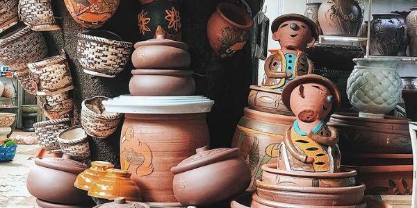 Visite du village céramique Bat Trang