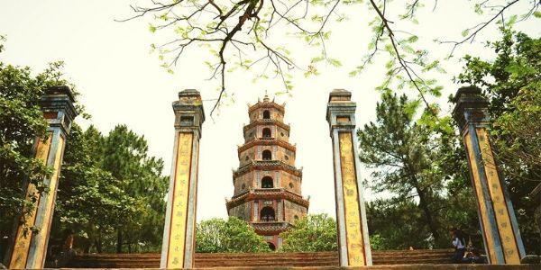 Pagodes au Centre Vietnam
