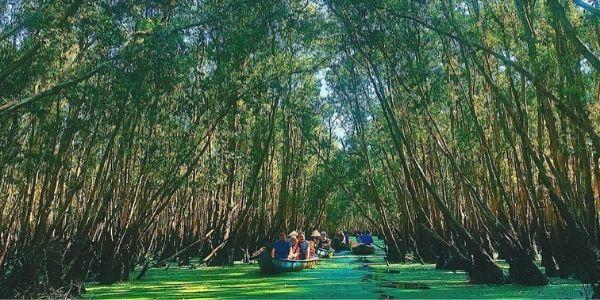 visite du delta du Mékong