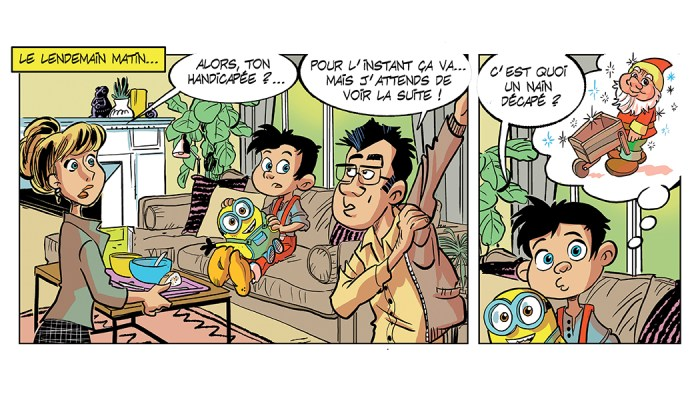 Gefco guide Handicap communication bande dessinée