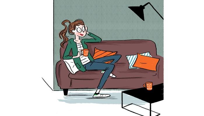 Mascotte leboncoin communication bande dessinée