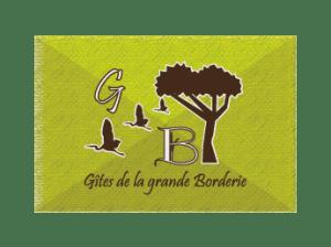 logo des gîtes de la grande Borderie