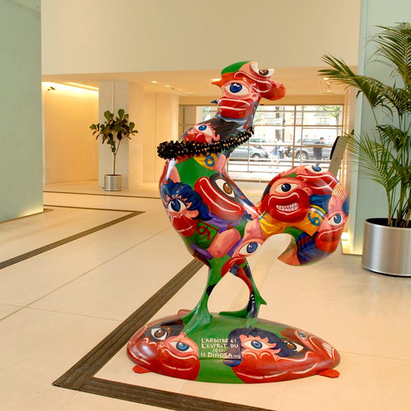 Sculpture L'arbitre et l'esprit du jeu