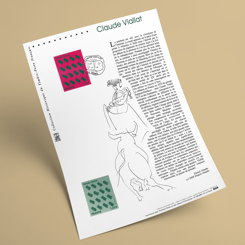 Création d'un timbre