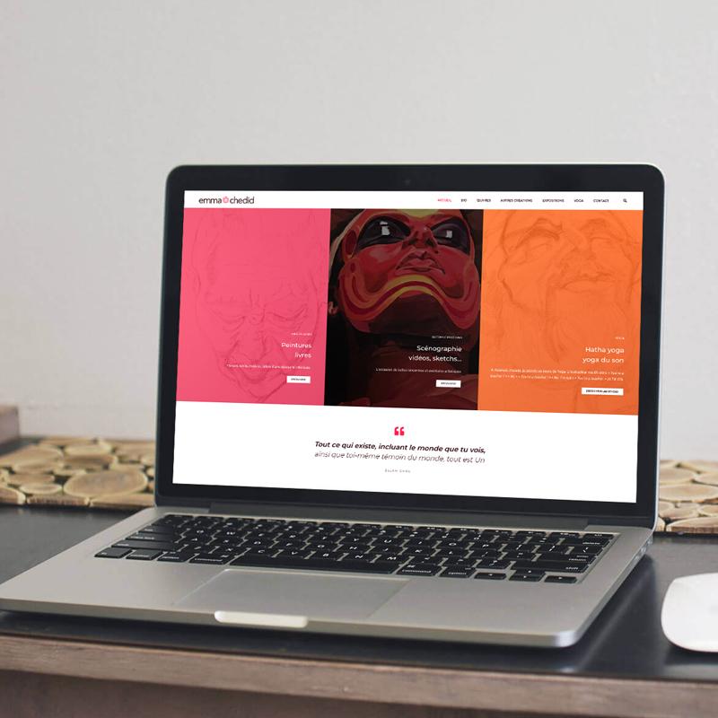 Création du site web responsive