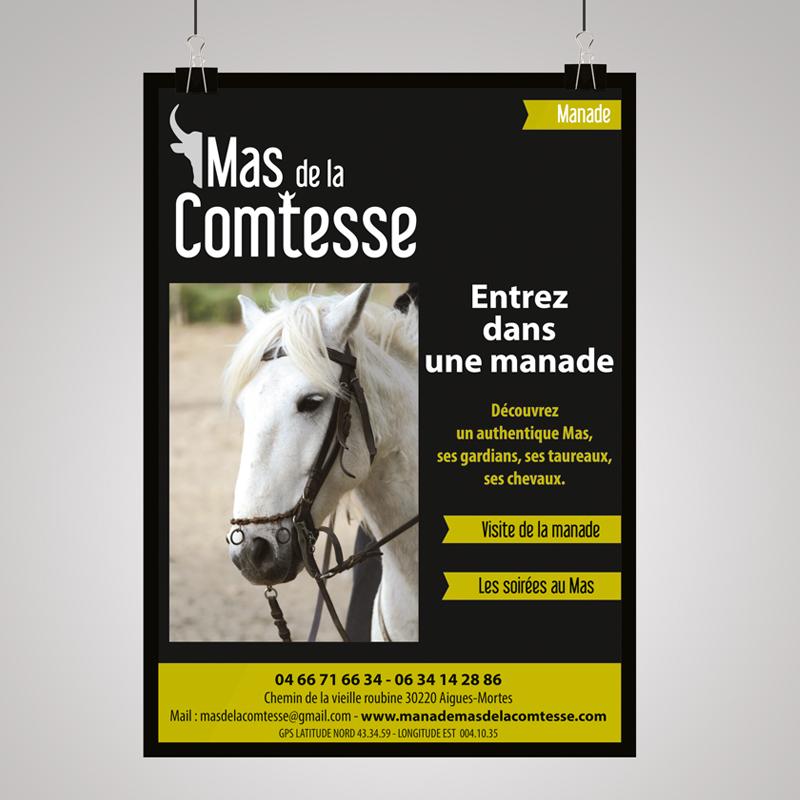 CRÉATION D'AFFICHES PUBLICITAIRES