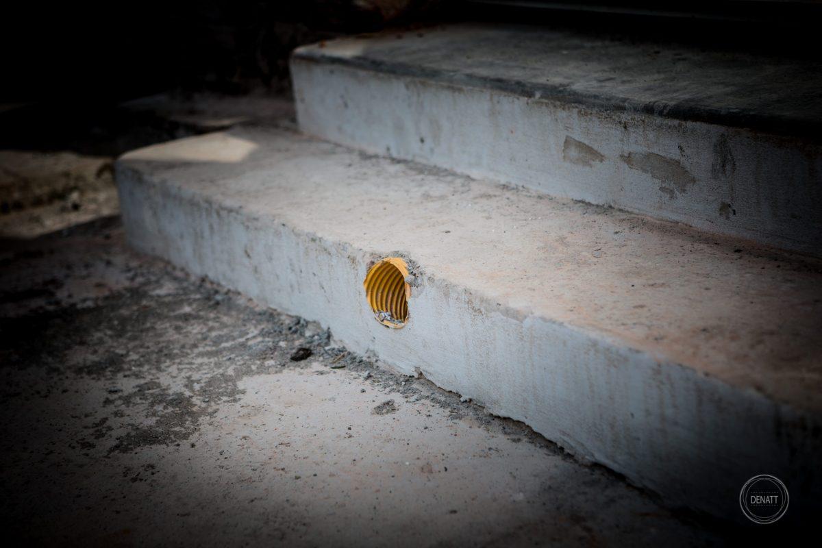 Détail ventilation sur maçonnerie © Agence Denatt