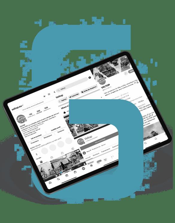 Agence Waves - Mockup offre réseaux sociaux