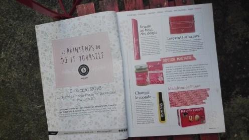 Extrait du magazine Happinez,blog Y.B paris