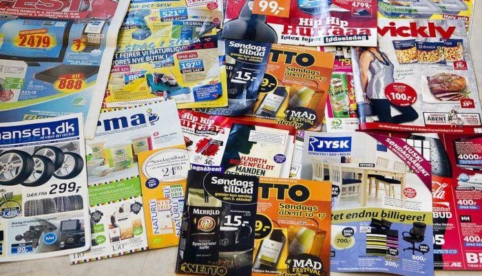 """76. pct. af de forbrugere, som har et """"Nej Tak""""-skilt på postkassen, læser i stedet digitale tilbudsaviser"""
