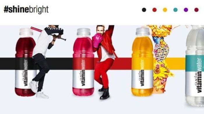 Coca-Cola opfordrer kreative talenter til at dele deres ideer i ny kampagne for Glacáu Vitaminwater.