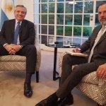 """Fernández: no hay """"auxilio"""" para provincia de Buenos Aires por deuda y confió en acuerdo con Larreta"""