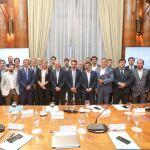 """Meoni prometió a las provincias """"mayor equidad, eficiencia y transparencia"""" en los subsidios"""