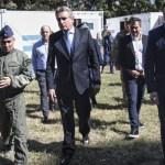 """Los ministros """"Wado"""" de Pedro, González García y Rossi supervisaron el Hospital de Fuerza Aérea"""