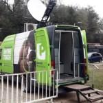 Villa Azul: el Banco Provincia instaló un cajero móvil para colaborar con el aislamiento