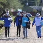 """Testeos """"casa por casa"""" en barrios populares del conurbano bonaerense para detección temprana de coronavirus"""