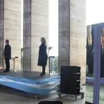 El Presidente Fernández a través de una videoconferencia con el Gobernador Perotti encabezó el acto por el Día de la Bandera