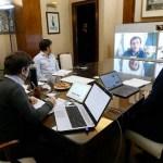 """El Gobernador Kicillof se reunió con los intendentes del AMBA y reiteró que """"hay que bajar la movilidad"""""""