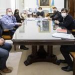 El Gobernador Kicillof evaluó situación sanitaria y financiera con intendentes de la Primera Sección bonaerense