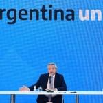"""Presidente Fernández: """"pudimos hacer la restructuración de la deuda en medio de esta pandemia"""""""