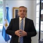 """Presidente Fernández: """"el aislamiento seguirá hasta el 20 de septiembre y habrá reuniones al aire libre"""""""