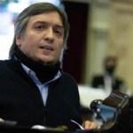 """Máximo Kirchner: """"el FMI tendría que reconocer que se equivocó, no está en condiciones de imponerle nada a nadie"""""""