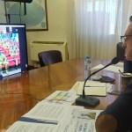 """El ministro Agustín Rossi despidió a los Cascos Azules que se suman a una """"misión de Paz en Chipre"""""""