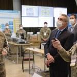 """Ministro Rossi: """"las demandas encomendadas a las Fuerzas Armadas en la asistencia por el coronavirus son cada vez mayores"""""""