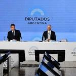 Massa, Guzmán y Heller presentaron el proyecto de gastos y recursos para el próximo año