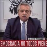 """Presidente Fernández: """"Macri, si no sabés, la cuarentena sirve para poner orden tras el desastre que dejaste"""""""