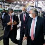 """Presidente Fernández anunció inversiones: """"es mucho más fácil construir juntos la Argentina que nos merecemos"""""""